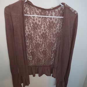 Urban Outfitters lace cardigan size small